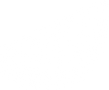 A black and white drawing of a wedge of lemon.