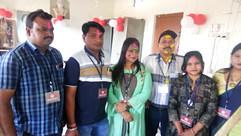 Holi event at oldage home