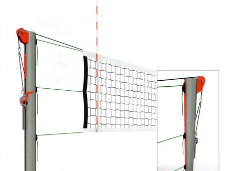 Металлические волейбольные стойки для мульти-площадок