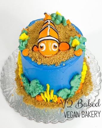 Nemo Smash Cake