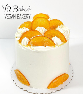 Orange Sunset Dessert Cake