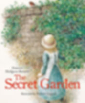 The Secret Garden by Frances Hodgson Burnett. Illustrated by Robert Ingpen