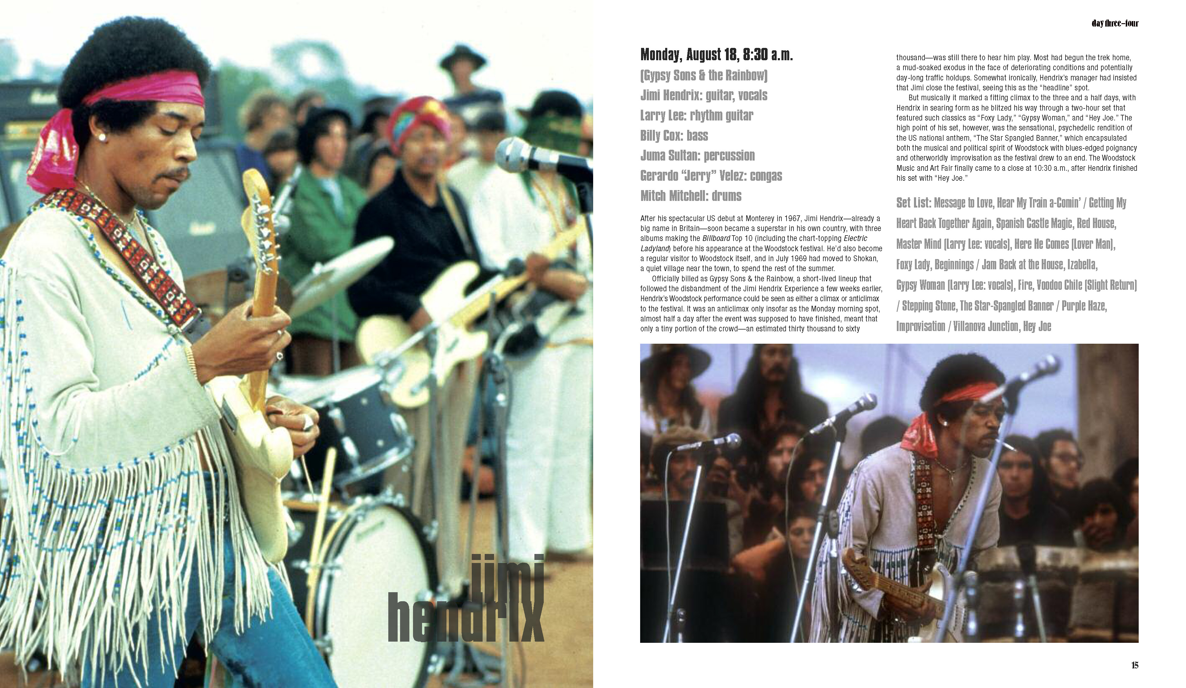 Woodstock 50th Anniversary Edition Three Days that Rocked the World