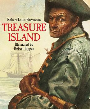 Treasure Island by Robert Louis Stevenson. Illustrated by Robert Ingpen
