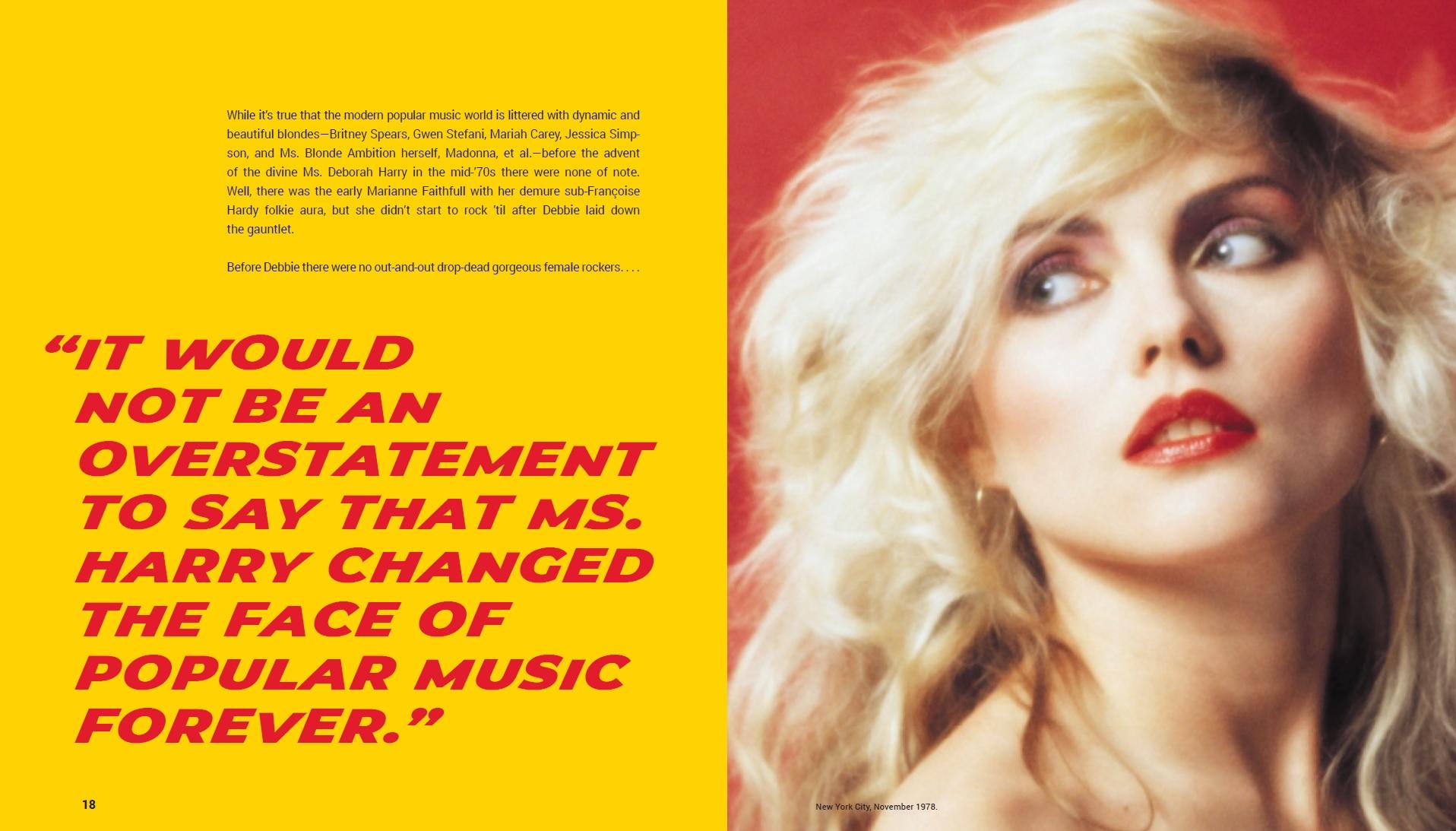 Debbie Harry And Blondie