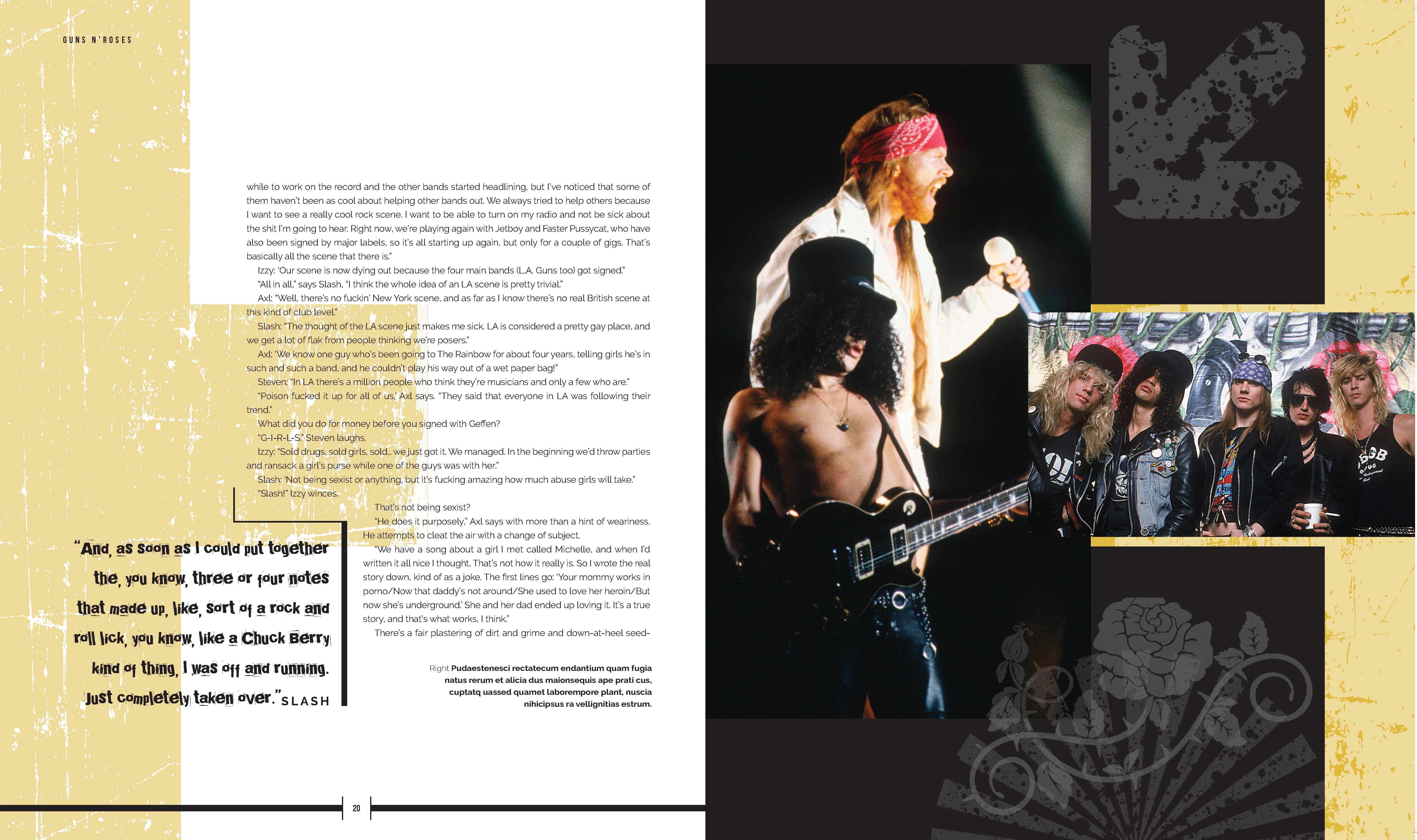 Guns N' Roses The Life and Times of a Rock 'N' Roll Band