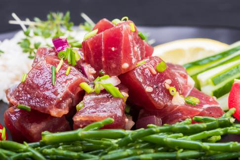 Hawaianisches Thunfisch Poke