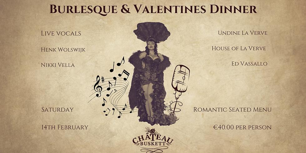 Burlesque & Valentines Dinner
