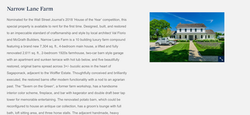 Wall Street Journal 2018 House Of The Year