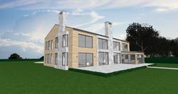 Modern Barn/Farm house