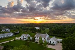 Twilight Aerial View