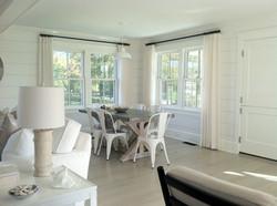 white and bright interiors