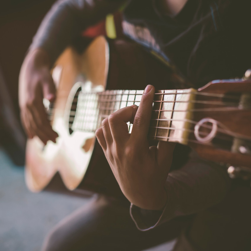 Practicing Classical Guitar