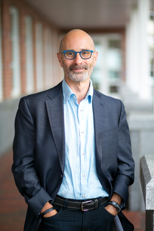 college professor headshot