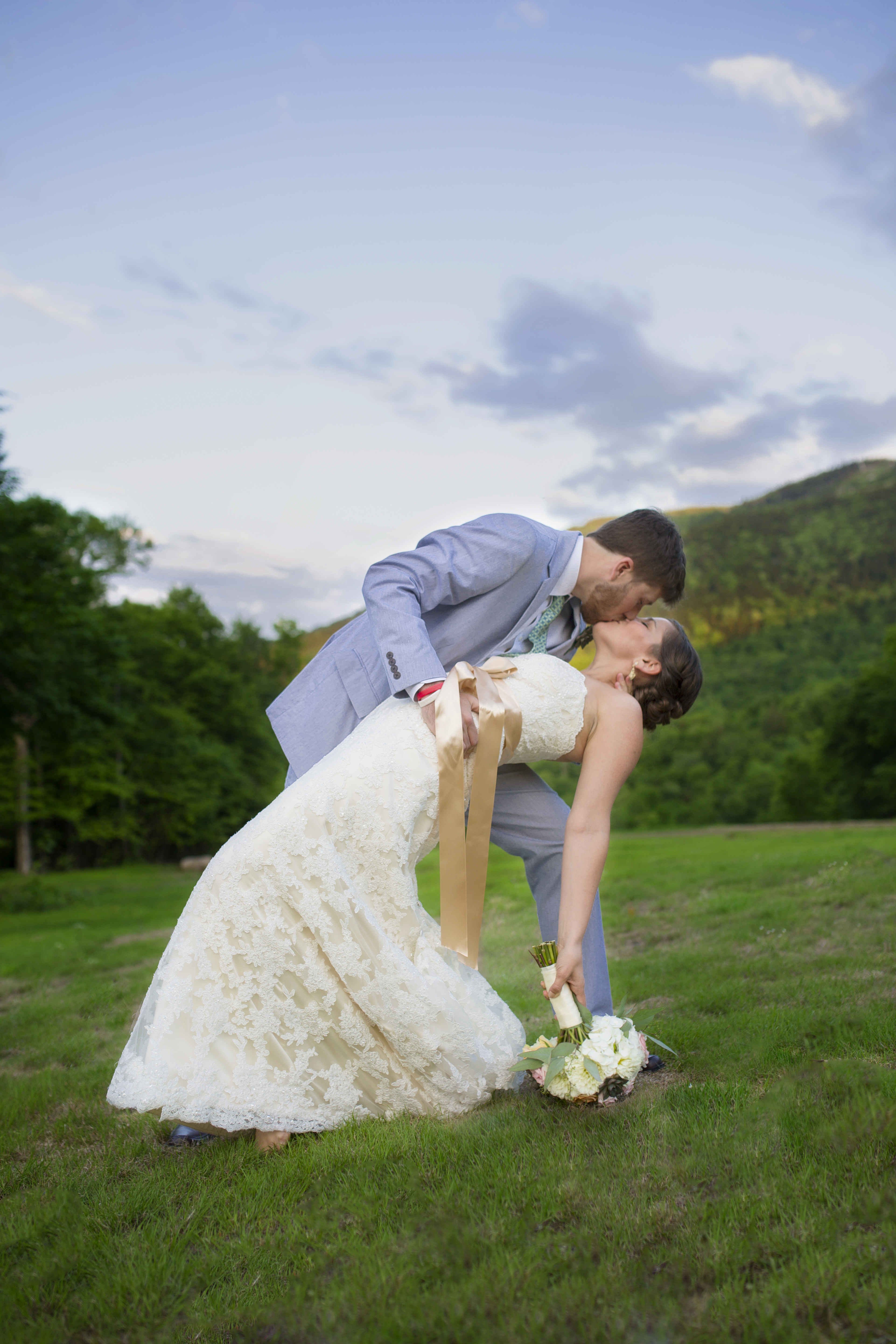 Sunday River Maine Wedding Photo