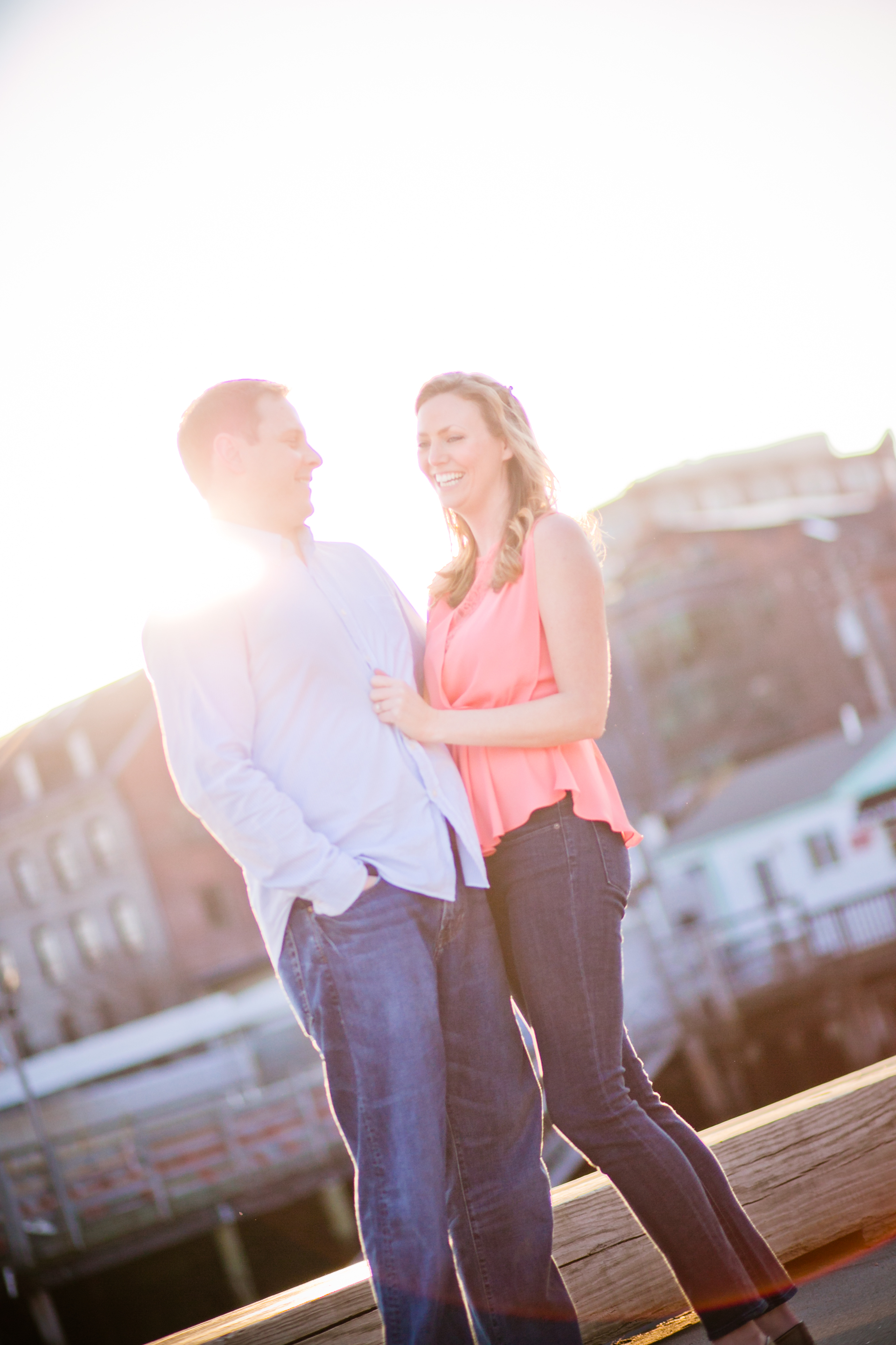 old port maine engagement