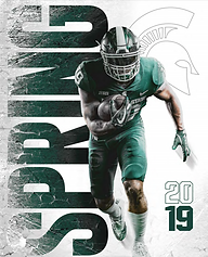 2019 MSU Football SPRING MEDIA GUIDE (IM