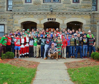 MERRY CHRISTMAS from THE DELT SIG SPARTANS!