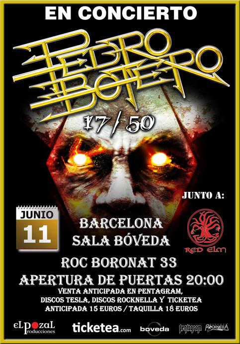 Pedro Botero + Red Elm @ SALA BÓVEDA