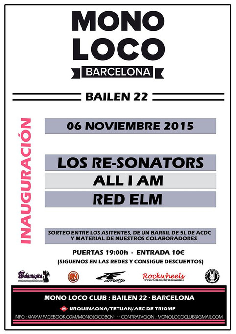 RED ELM @ MONOLOCO CLUB