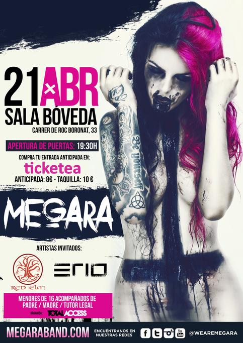 MEGARA+RED ELM+ERIO