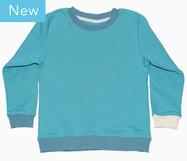 Superweicher Baumwoll-Sweater mit Rundhals