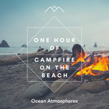 One Hour of Campfire on the Beach