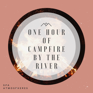 One Hour of Campfire by the Ocean