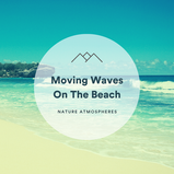 Moving Waves On The Beach