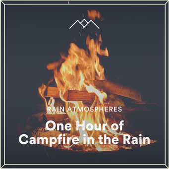 One Hour of Campfire in the Rain