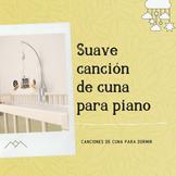 Suave canción de cuna para piano