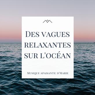 Des vagues relaxantes sur l'océan