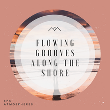 Flowing Grooves Along The Shore