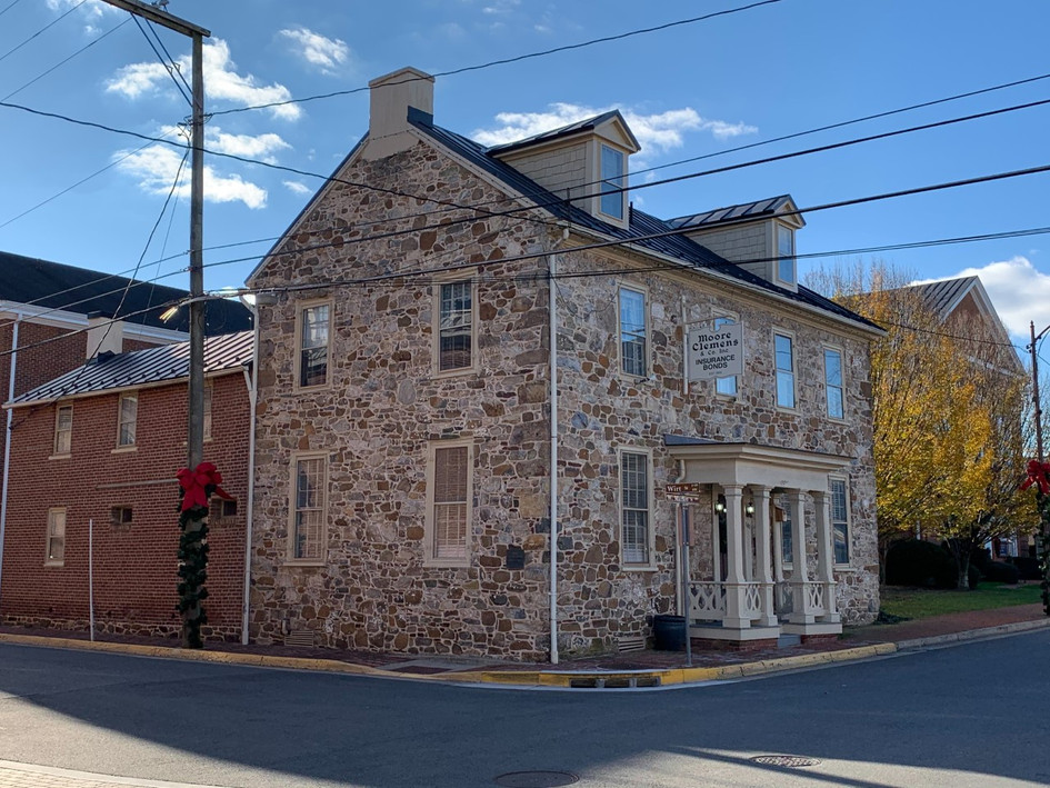 18th c. stone house