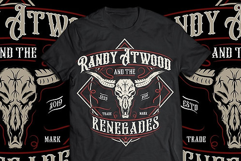 Randy Atwood And The Renegades T Shirt