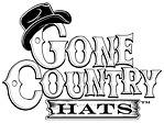 Gone Country Logo White lettering White