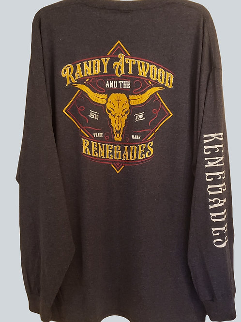 Randy Atwood And The Renegades Long Sleeve