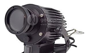 Мощный гобо проектор GoboPro GBP-3001 для уличной световой проекционной рекламы на асфальт