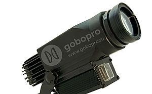 Пылевлагозащищенный гобо проектор GoboPro GBP-3007 для проекции информационных указателей, знаков, световой рекламы на улице