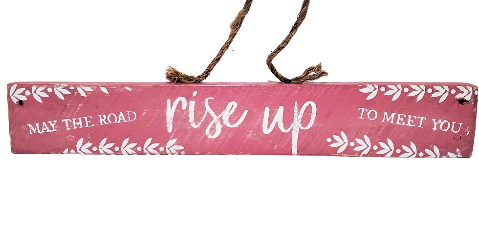 Rise Up Reclaimed Pallet Wood Sign