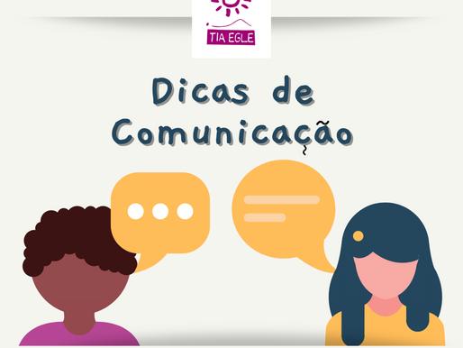 Dicas de Comunicação