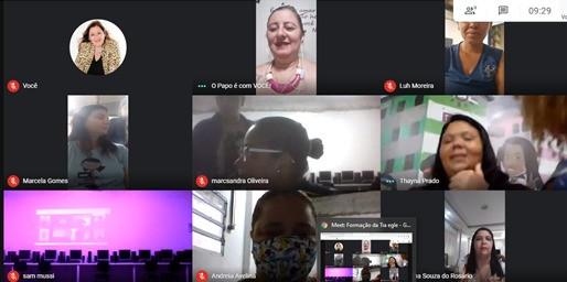 Educadoras participam de Palestra sobre educação sexual!