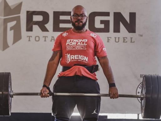 Projeto Tia Egle é representado em campeonato de Strongman