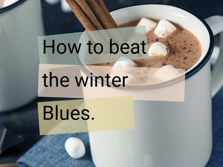 Winter is coming. The blues are settling in.