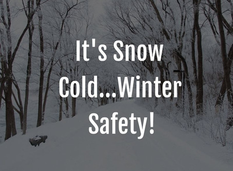 Winter Safety for road users!