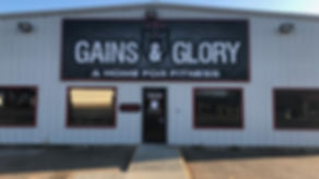 Gains & Glory Outside