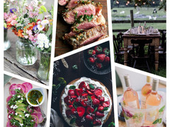 Dinner Party Inspiration - Spring Garden Party
