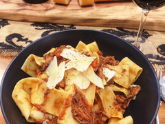 Murray's Mysterious Beef Ragu with Pappardelle