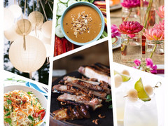 Dinner Party Inspiration - Southeast Asian Soiree