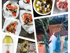 Dinner Party Inspiration ~ Fresh Italian Winter Feast